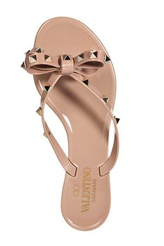CLEARANCE - VALENTINO FLIP FLOPS - SIZE 9 & 6
