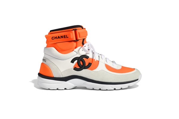 CHANEL TRAINER SS18 HIGH TOP - COLORS AVAILABLE
