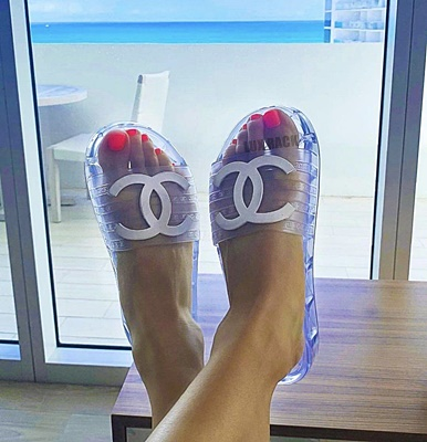 CHANEL CLEAR JELLY SLIDES | Styles Available
