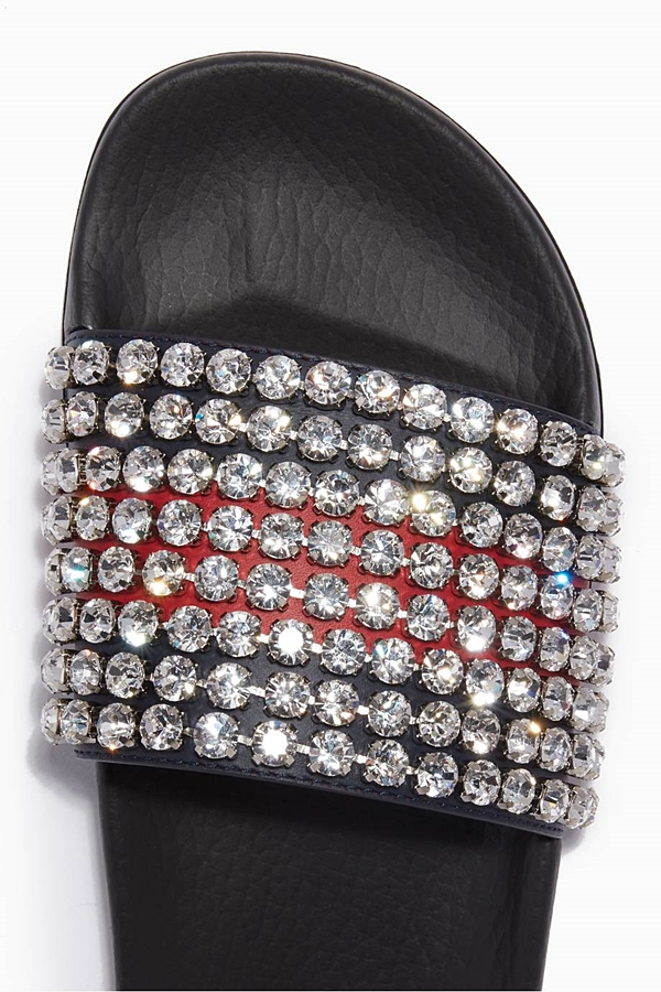Gucci Slides Gucci Crystal Headband Gucci Pearl Slides