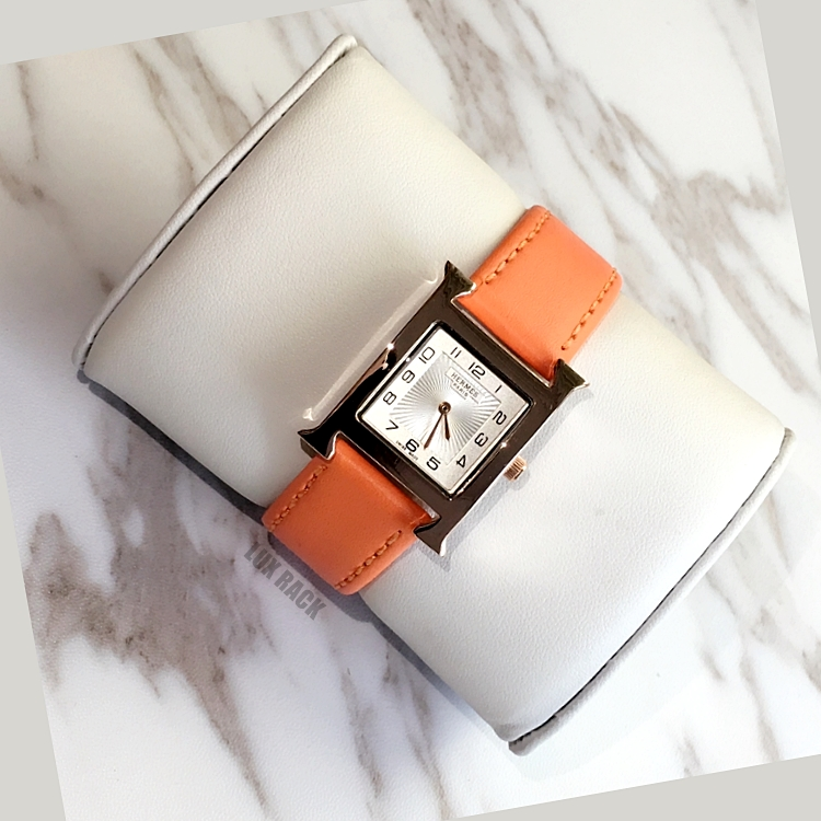 HERMES LEATHER WATCH - Colors Available