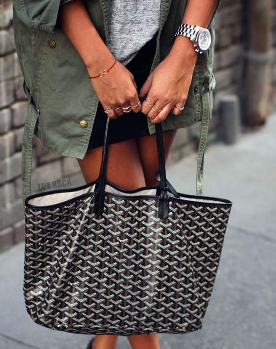 GOYARD SIGNATURE TOTE - Sizes/Colors Available