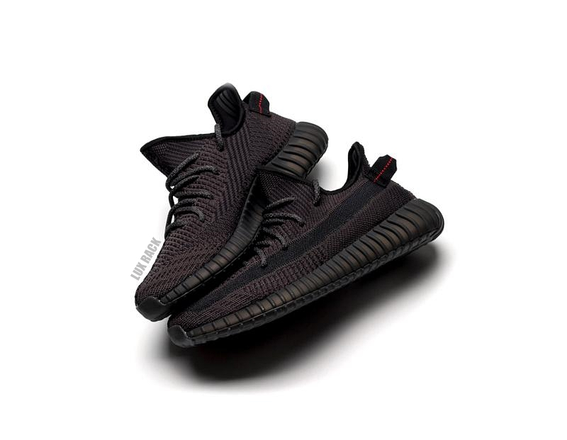 YEEZY V2 BOOST 350 BLACK - New Release