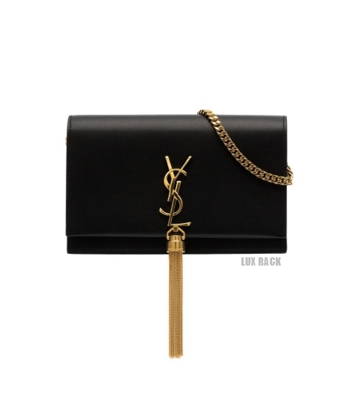YSL SMOOTH KATE GOLD TASSEL BAG