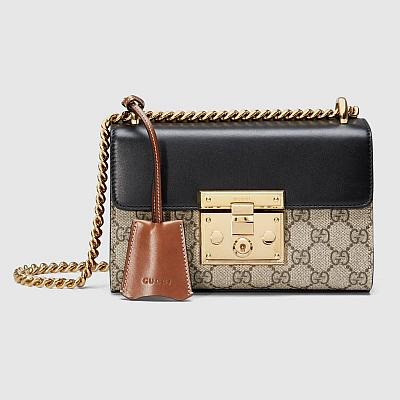 GUCCI MINI PADLOCK BAG