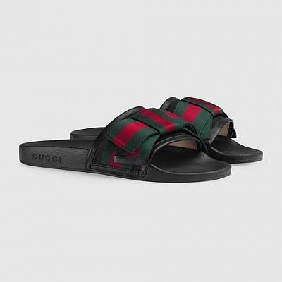 GUCCI BOW SLIDES
