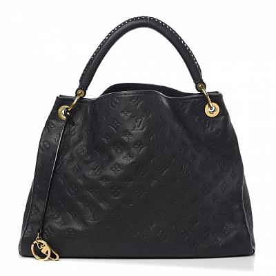 LOUIS VUITTON LV ARTSY EMPREINTE GM BLACK