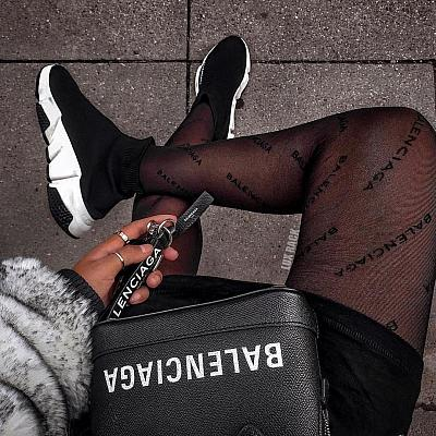 BALENCIAGA STOCKINGS TIGHTS LEGGINGS