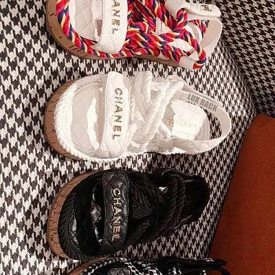 CHANEL ROPE SANDALS