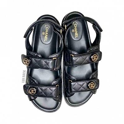 CHANEL VELCRO SANDALS - Colors Available