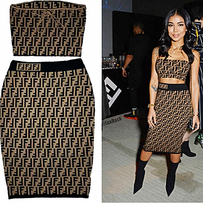 (RESTOCKED) FENDI 2 PIECE SET