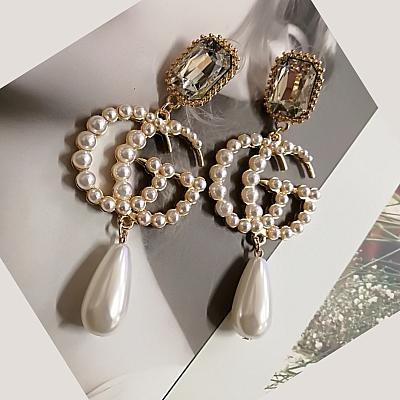 GG LUXURY PEARL EARRINGS