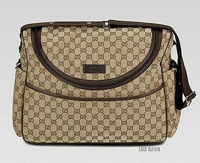 GUCCI SUPREME DIAPER BAG