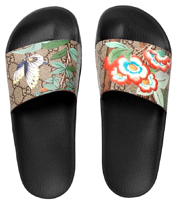 GUCCI HUMMINGBIRD TIAN SLIDES