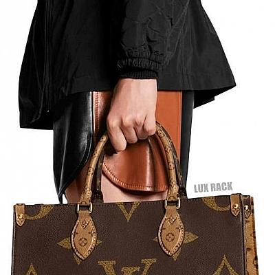 LV ON THE GO TOTE BROWN MONOGRAM