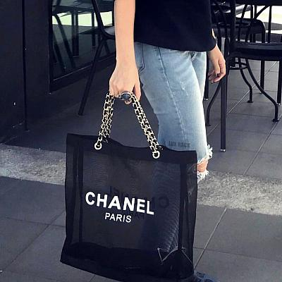 LIMITED EDITION - CHANEL MESH VIP TOTE