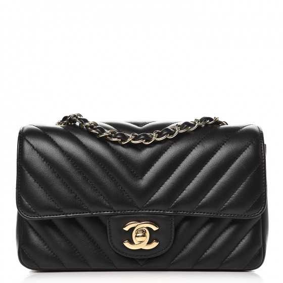 CHANEL CLASSIC CHEVRON HANDBAG