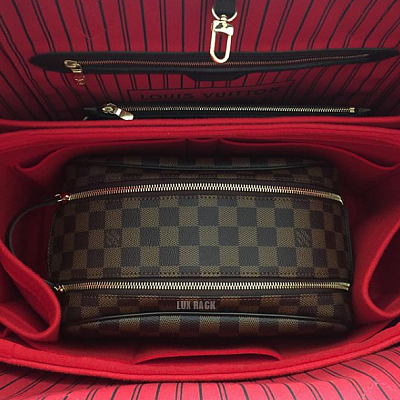 LV COSMETIC MAKEUP TOILETRY BAG POUCH