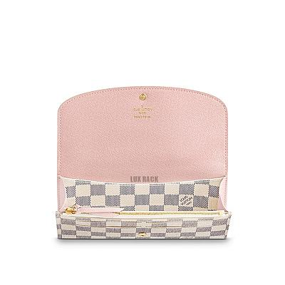 LV EMILIE WALLET - ROSE EDITION