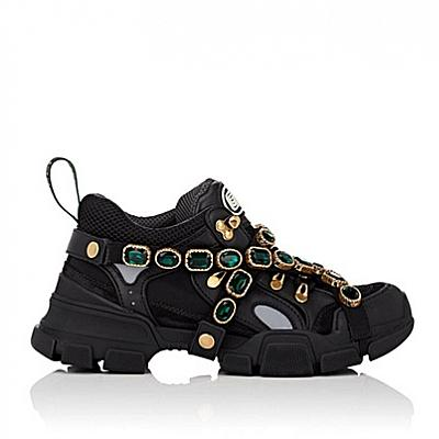 GUCCI JEWELED SNEAKER