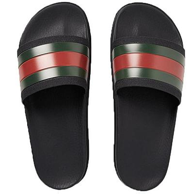 GUCCI STRIPE SLIDES
