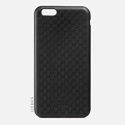 GUCCI SMALL G RUBBER PHONE CASE