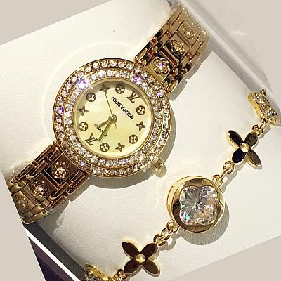 LOUIS VUITTON DIAMOND WATCH