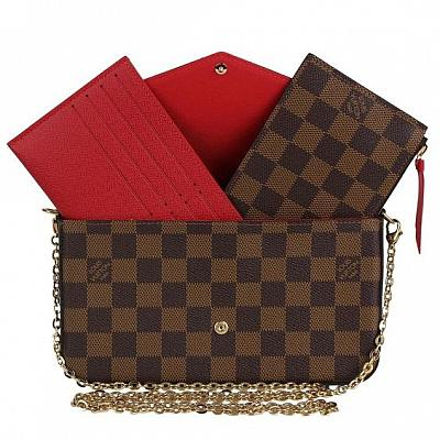 LV FELICIE CROSSBODY POCHETTE WALLET BAG