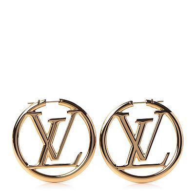 LV HOOP EARRINGS