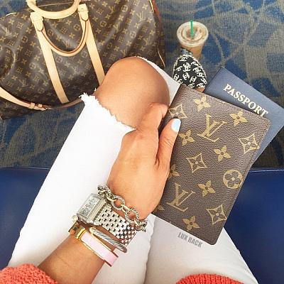 LOUIS VUITTON LV PASSPORT COVER HOLDER - Styles Available