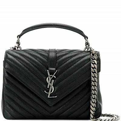 YSL COLLEGE MEDIUM HANDBAG