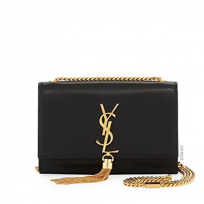 YSL KATE GOLD TASSEL BAG